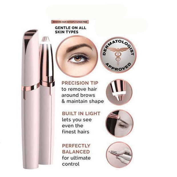 Eyebrow Remover Shaver Painless