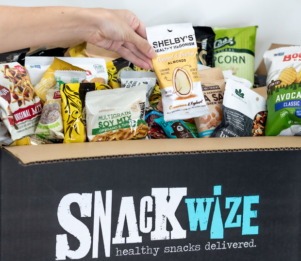 Based on providing 2 snacks per employee per month, we suggest 1 x Office Grazers Box & 1 x Hungry As A Horse Box - 600 Snacks Delivered Monthly