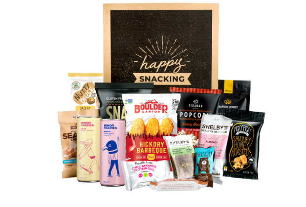 The Morning Pick Me Up Box With Snacks & Coffee