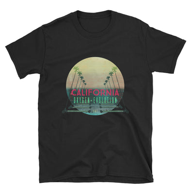 California Oxygen=Evolution. Short-Sleeve Unisex T-Shirt