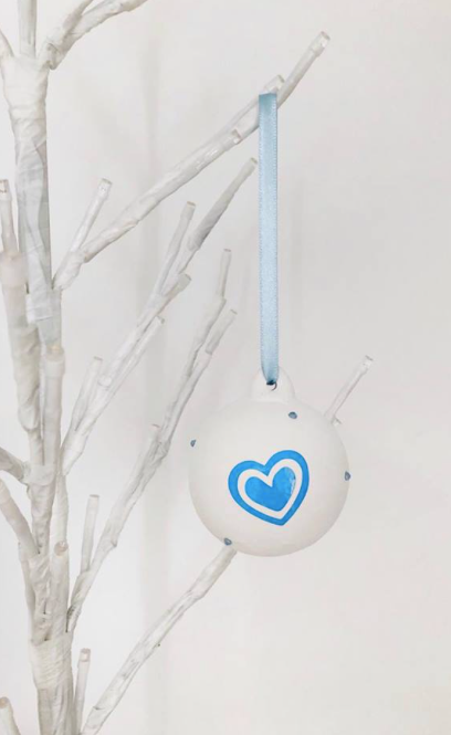 Personalised Foundation Christmas Bauble