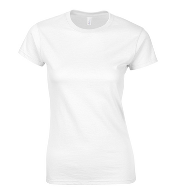 Ladies' White T-shirts