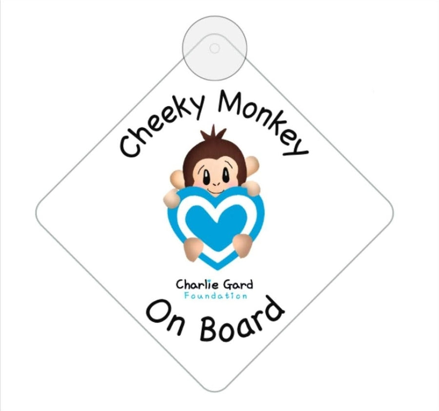 Cheeky Monkey Window Hanger