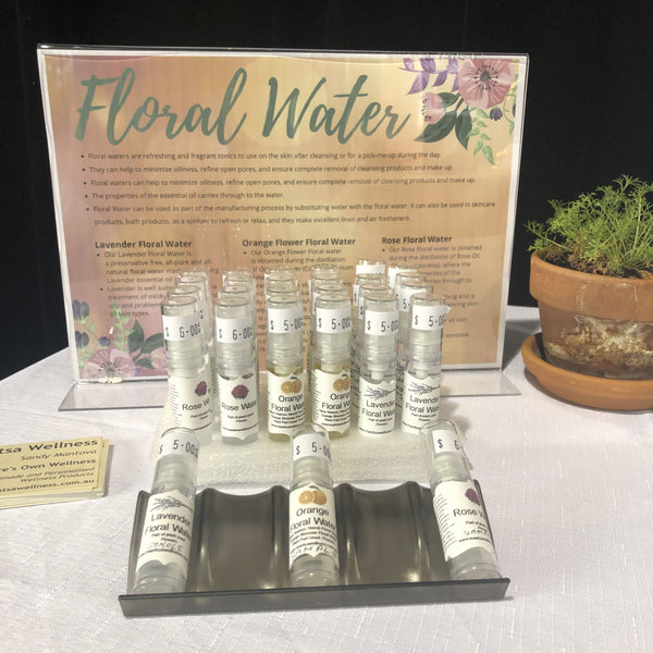 Floral Waters.....A beautiful natural alternative