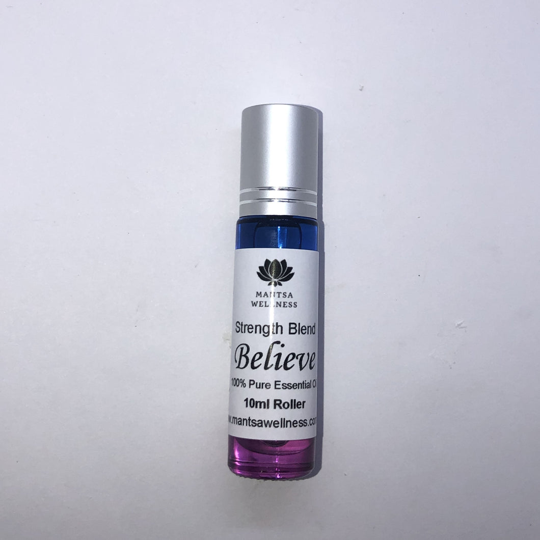 Rollers - Believe - Strength Blend Mantsa Wellness 10ml