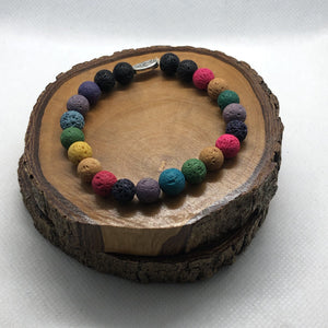 Mantsa Designs - Lava Bracelets - Colour Mantsa Design Bracelet Mantsa Wellness