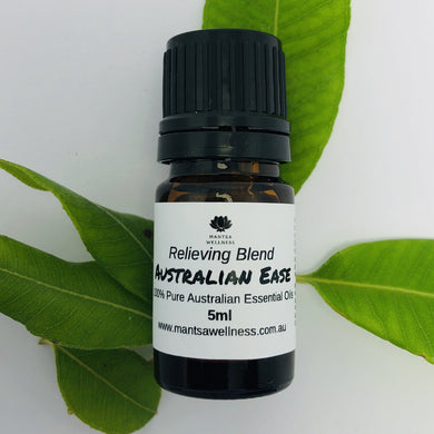 Essential Oil Blend - Australian Ease - Relieving Blend Essential Oil Blend Mantsa Wellness