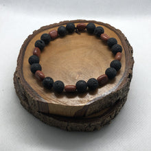 Load image into Gallery viewer, Mantsa Designs - Lava Bracelets - Lava Sunstone Mantsa Design Bracelet Mantsa Wellness Lava Sunstone