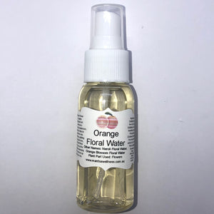 Floral Water: Orange Flower Floral Waters Mantsa Wellness 50ml