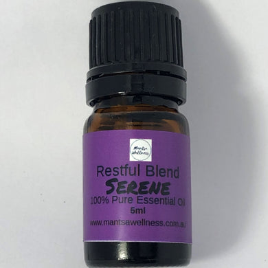 Essential Oil Blend - Serene - Restful Blend Essential Oil Blend Mantsa Wellness
