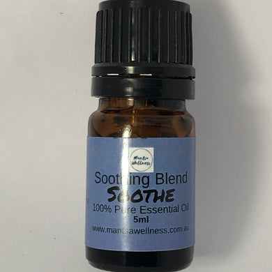 Essential Oil Blend - Soothe - Soothing Blend Essential Oil Blend Mantsa Wellness
