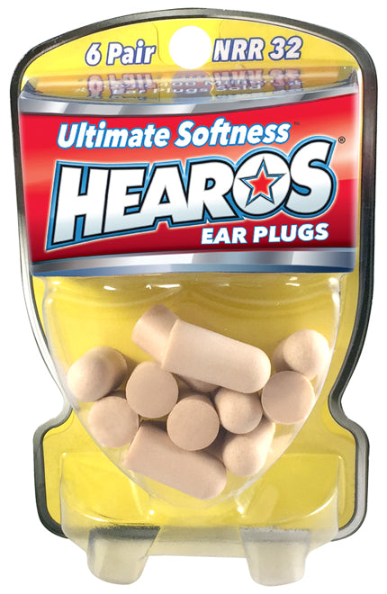 Consumer Packaged Foam Ear Plugs