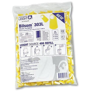 10x Pack - Howard Leight 300 Series 303L Large Ear Plugs (200 Pairs Uncorded)