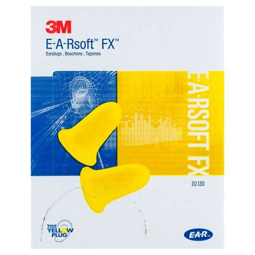 3M™ E-A-Rsoft™ FX™ Earplugs (200 Poly Bag Uncorded)