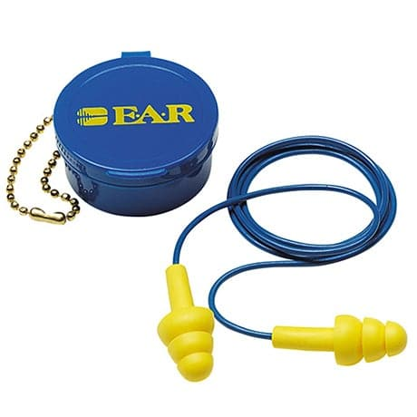 3M™ E-A-R™ UltraFit™ Earplugs w/ Carrying Case (50 Pairs Corded)