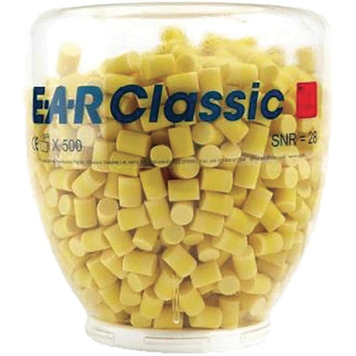 3M™ E-A-R™ Classic™ Platinum™ One Touch™ Refill Earplugs (500 Pairs Uncorded)