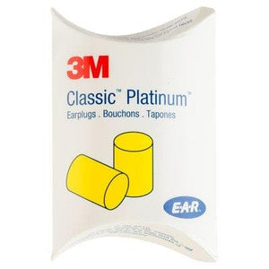 Box - 3M™ E-A-R™ Classic™ Platinum™ Earplugs (200 Pairs Uncorded | Pillow Pack)