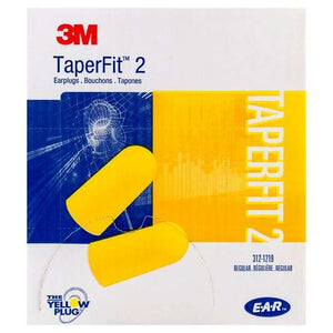 3M™ E-A-R™ TaperFit™ 2 Earplugs, Poly Bag, Regular (200 Pairs Uncorded)