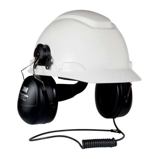 3M™ PELTOR™ HT Series Listen Only Headset, Intrinsically Safe, Hard Hat Attached
