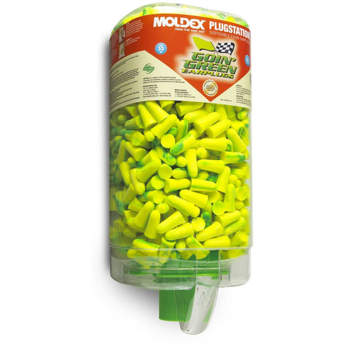 6647 Moldex Goin' Green® Disposable Earplugs (500 Pairs)