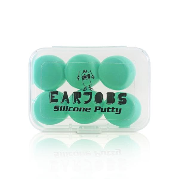 Earjobs™ Silicone Putty Ear Plugs (Box of 3 Pairs) (SNR 22)