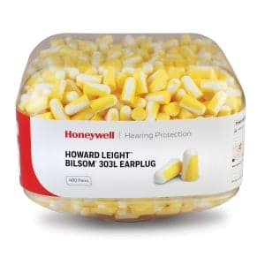 2x Box Canister 303L Pre-filled Ear Plugs (400 pairs each)