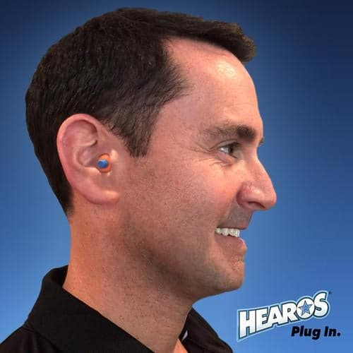 Hearos SoftStar EZ Twist No-Roll Foam Ear Plugs (NRR 30) (Uncorded)