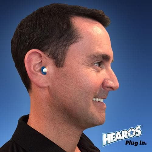 Hearos F4 Series Reusable Ear Plugs (NRR 27) (Uncorded)