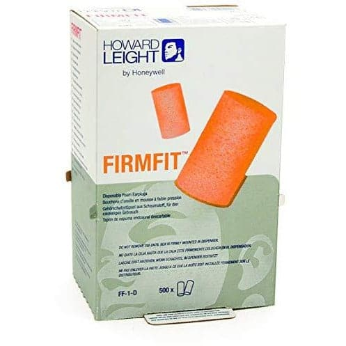 4x Box - Howard Leight FirmFit Ear Plugs (500 Pairs Uncorded)