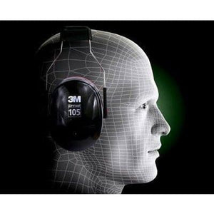 3M Peltor H10A Optime 105 Earmuff for Work and Shooting