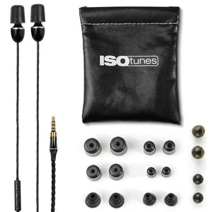 ISOtunes WIRED Noise Isolating Earbuds (NRR 29)