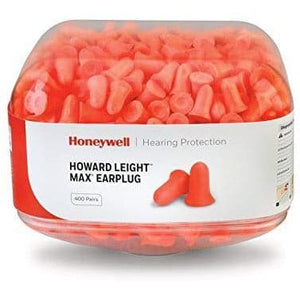 2x Canister MAX-1 Pre-filled Ear Plugs (400 pairs each)