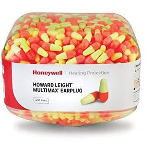 2x Canister MM-1 Pre-filled Ear Plugs (400 pairs each)