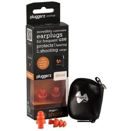 Pluggerz All-Fit Reusable SHOOT Ear Plugs