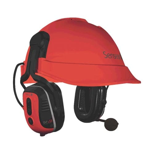MISHSR1 Sensear - SM1xSR Smart Helmet Attach Ear Muff (Intrinsically Safe)