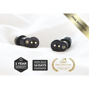 QuietOn Electronic Noise Cancelling Sleep Earbuds