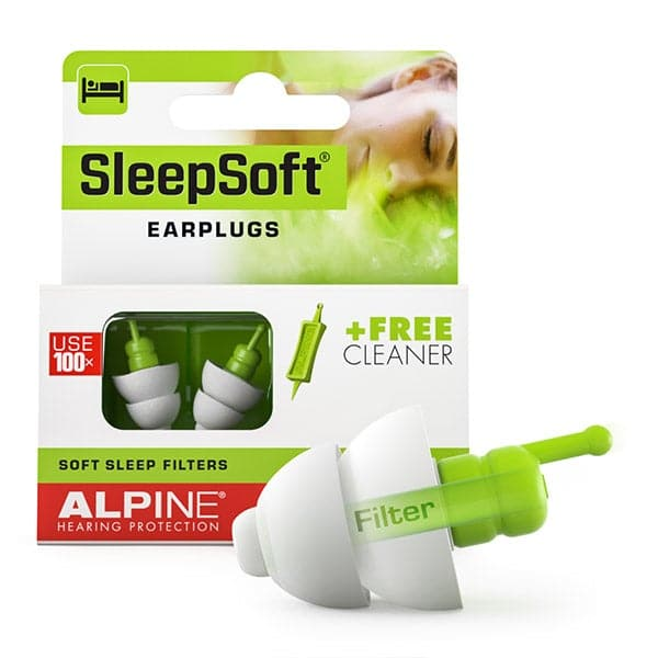 Alpine SleepSoft Reusable Sleeping Earplugs