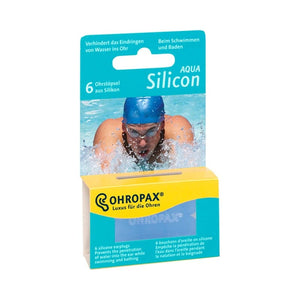Ohropax Silicone AQUA Swimming Ear Plugs