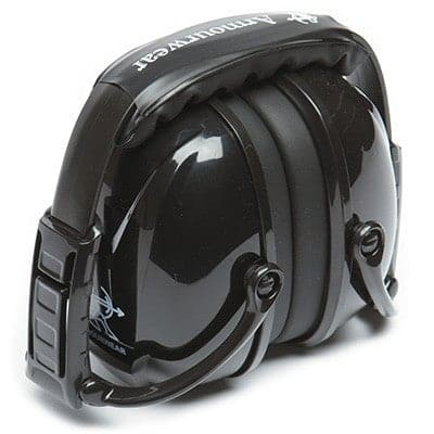 Armourwear Black Foldable Earmuffs for Work