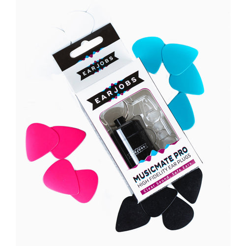 Earjobs™ MUSICMATE® PRO High Fidelity Music Ear Plugs