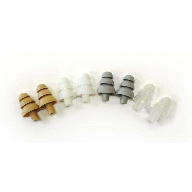 Got Ears?® Premium Triple Flange Replacement Tips for Isolation Earphones (Order in pairs)