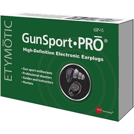 GSP15 GunSportPRO Electronic Earplugs for Shooting