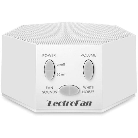 lectrofan white noise machine for sleep