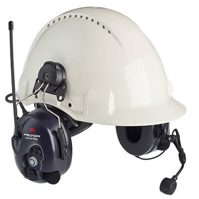 3M™ Peltor™ LiteCom Plus 2-Way Radio for Work with Helmet