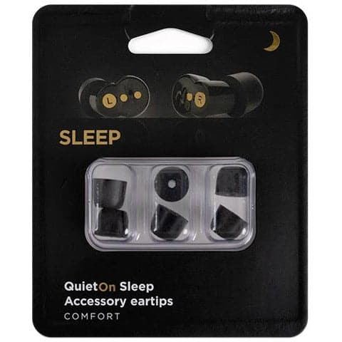 QuietOn Sleep Memory Foam Replacement Tips (S, M, L)