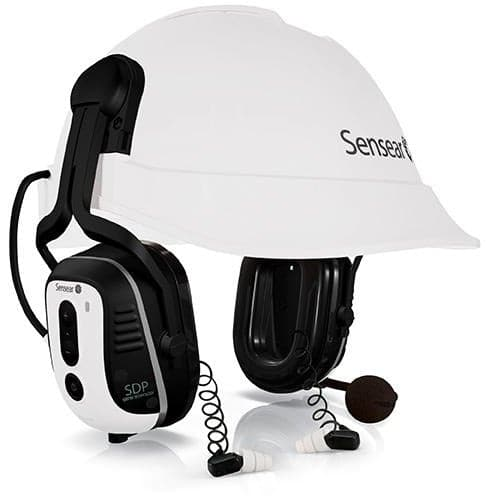 SMHSDPSR SensEar - SDP Dual Protection Smart Helmet Mount Ear Muff