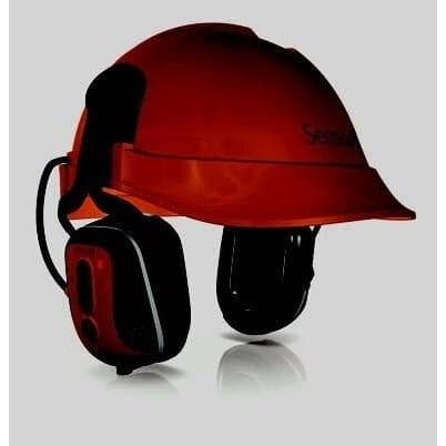 SM1X Sensear - Industrial Helmet-Mounted, Bluetooth, Earmuffs
