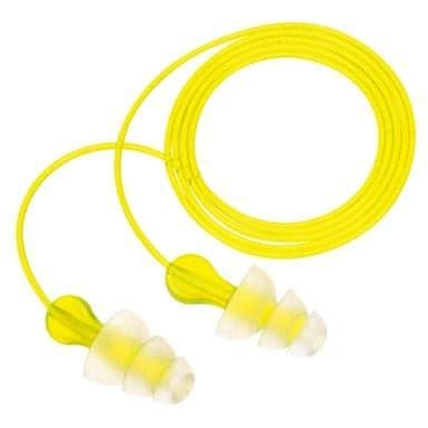 Box 3M Tri-Flange Vinyl Corded Ear Plugs