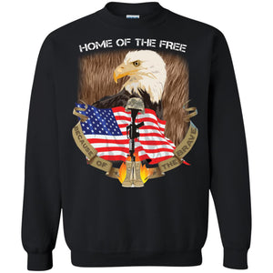 Home Of The Free - Because Of The Brave Shirt