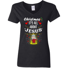 Load image into Gallery viewer, Charlie Brown - Christmas It's All About Jesus Shirt
